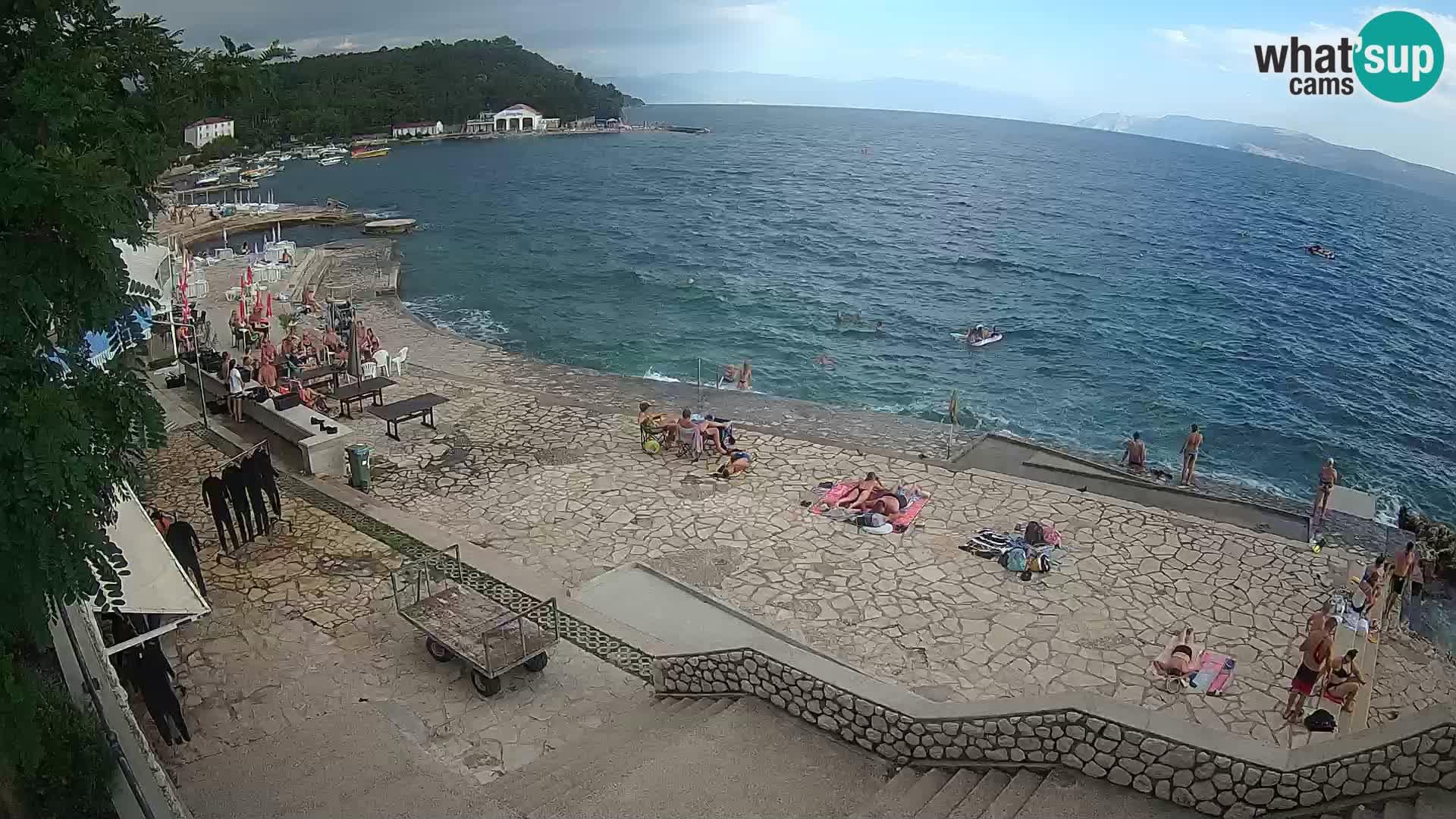 Selce – Strand – Tauchzentrum
