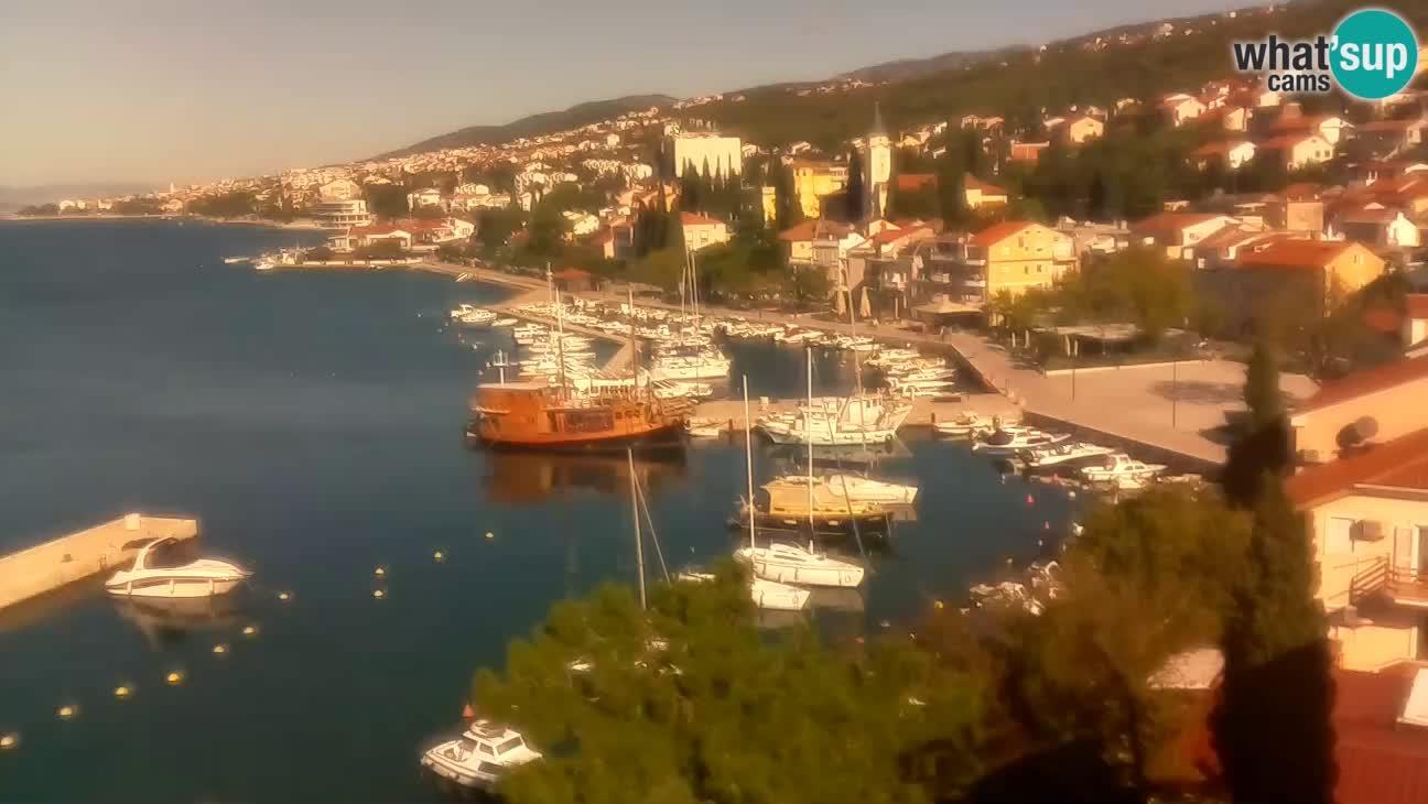 Selce – pogled s hotela Selce