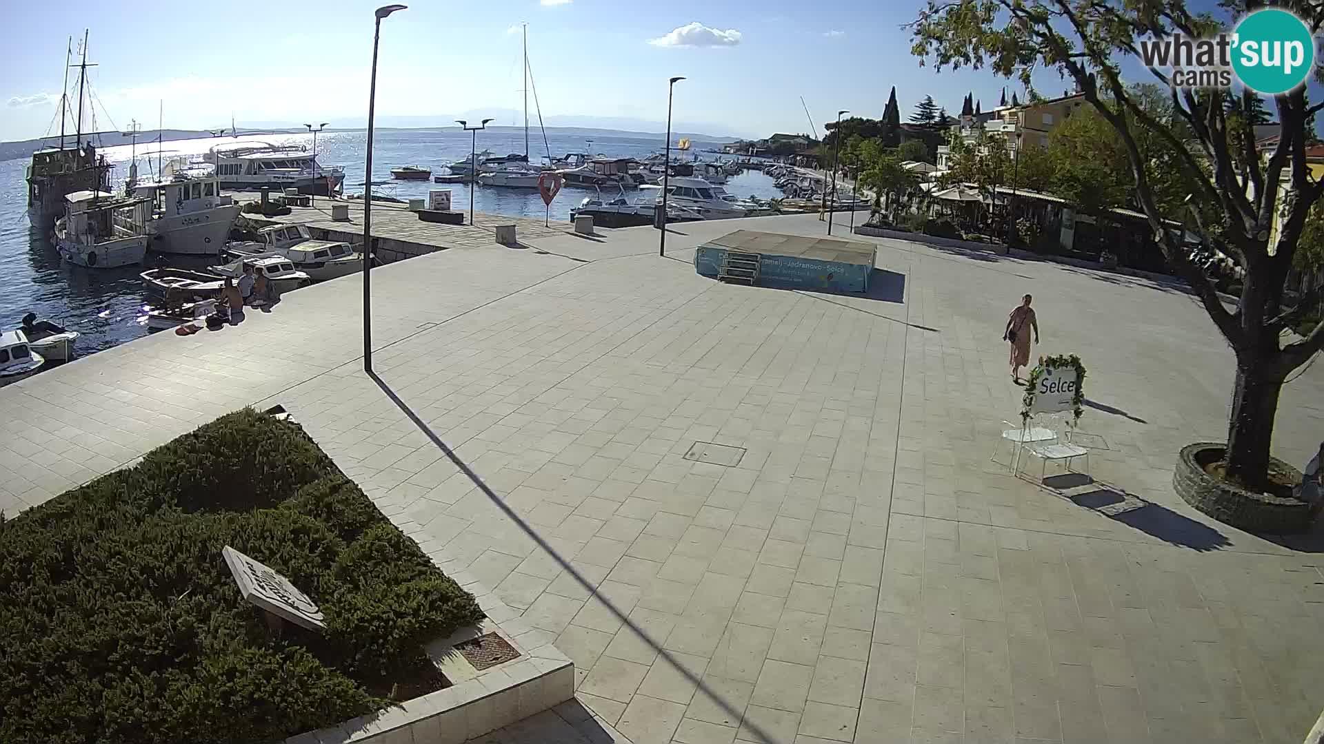 Selce livecam – place principale