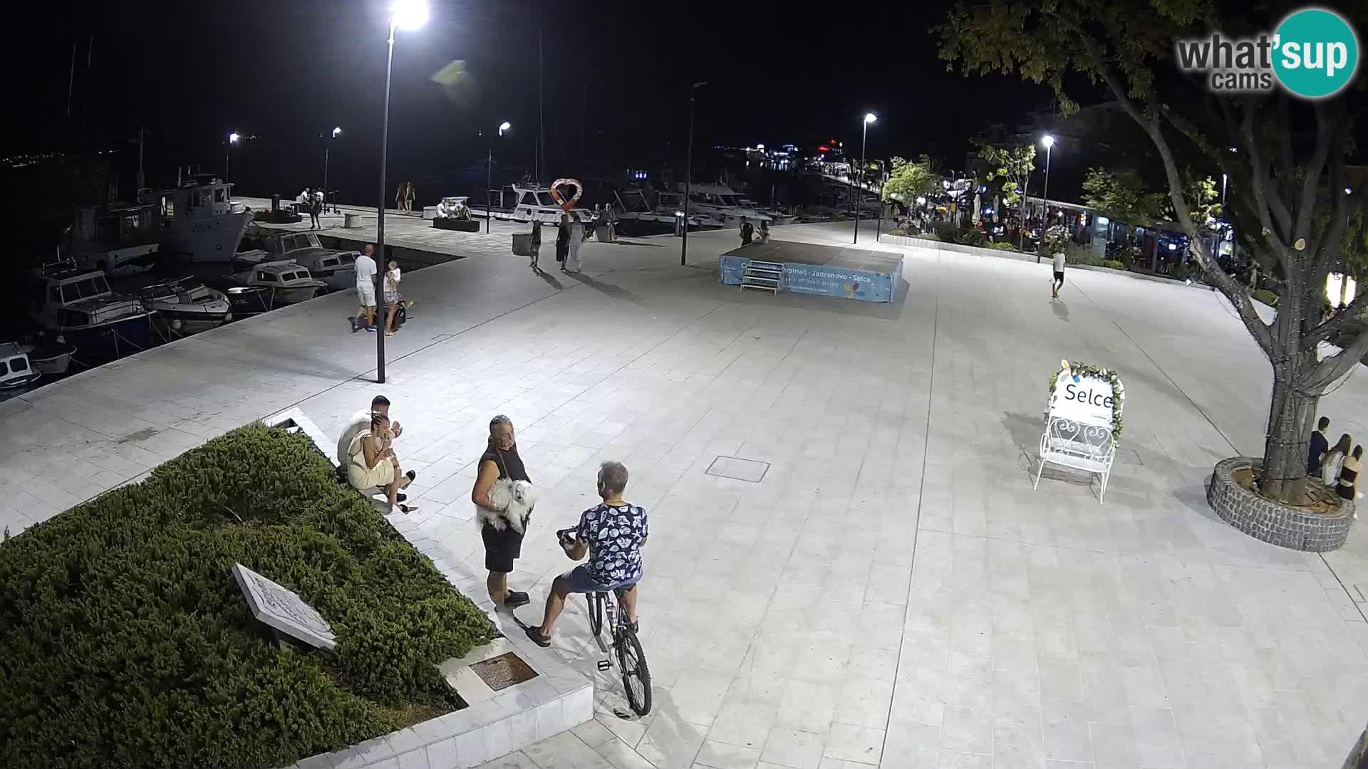 Selce webcam – Hauptplatz