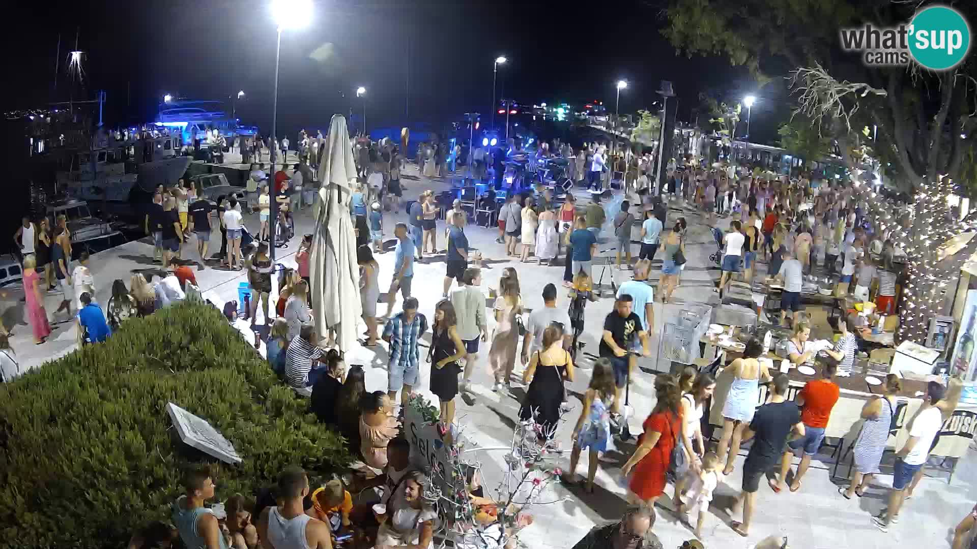 Selce Live webcam – piazza centrale