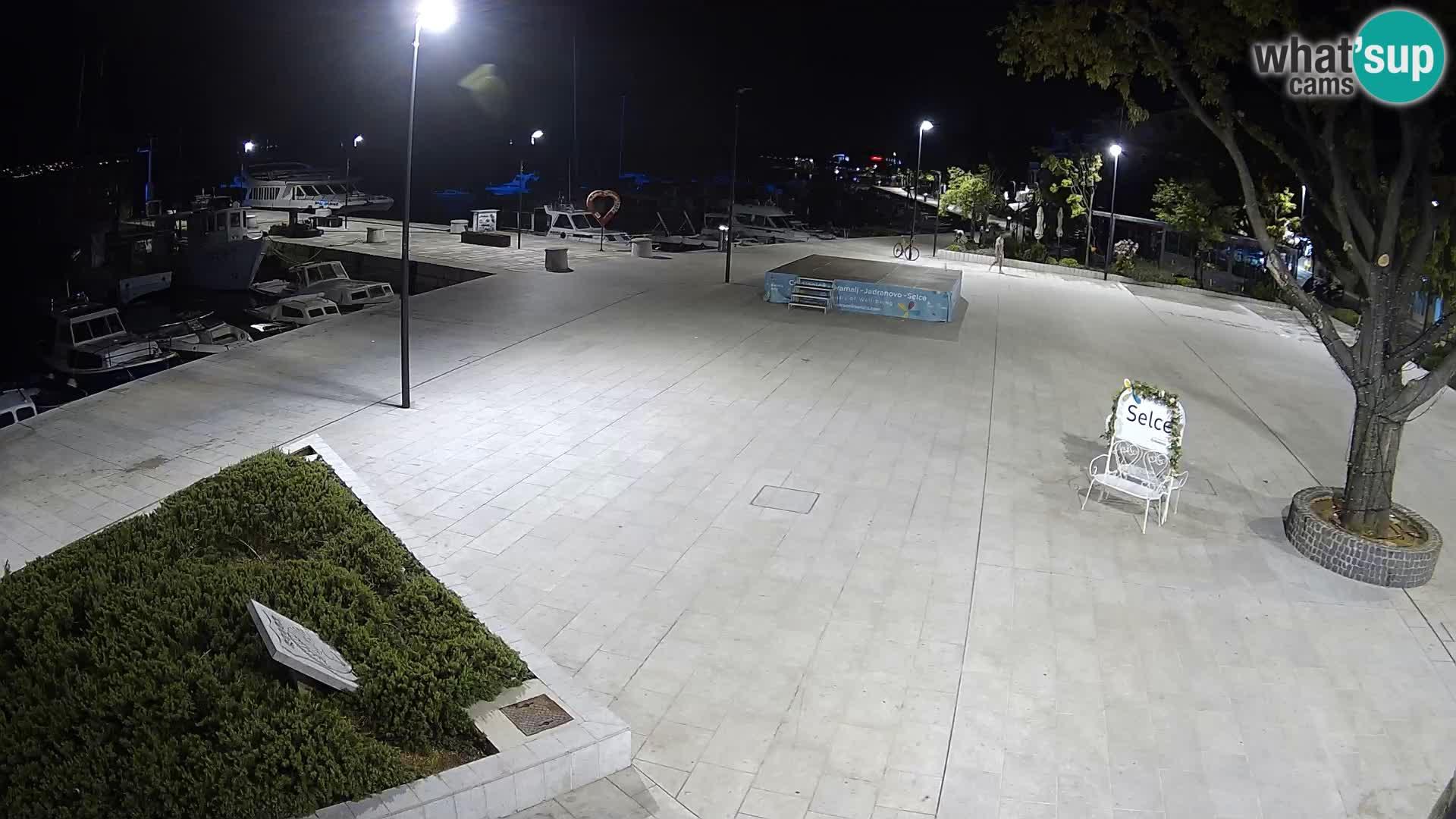 Livecam Selce – main square