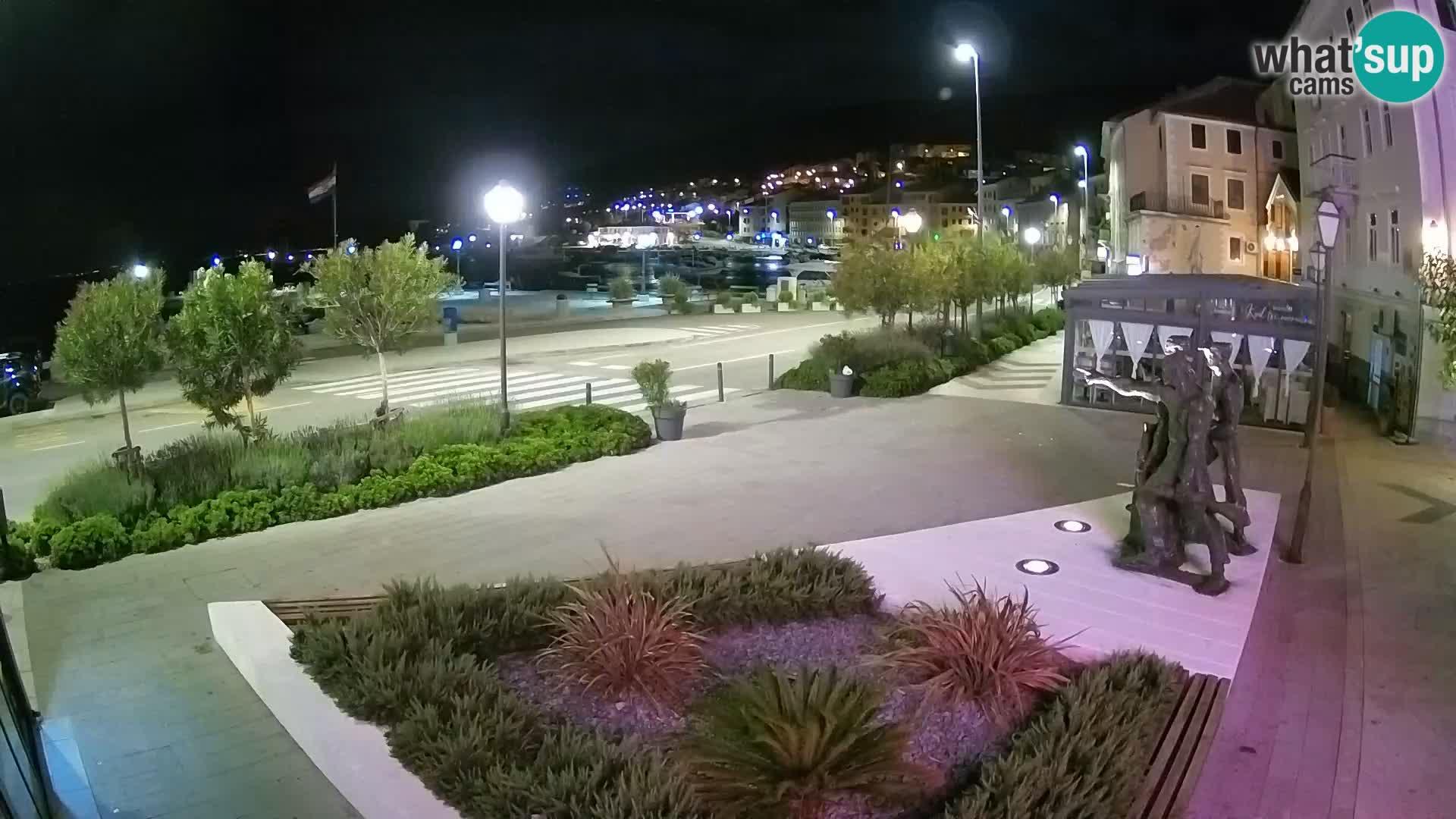 Live-Webcam Senj Riva – direkt am Meer – Kroatien