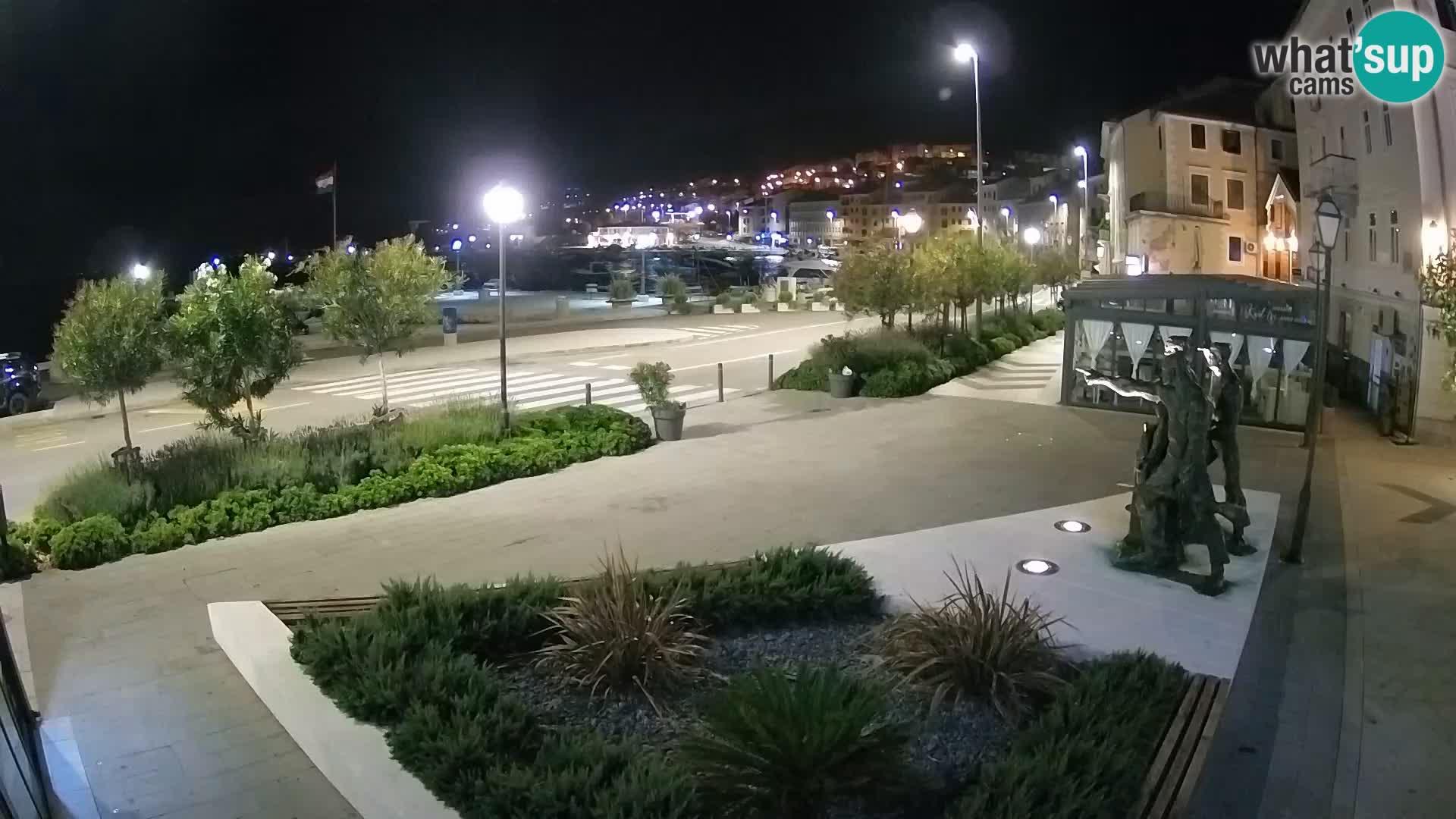 Webcam en vivo Senj riva – paseo marítimo