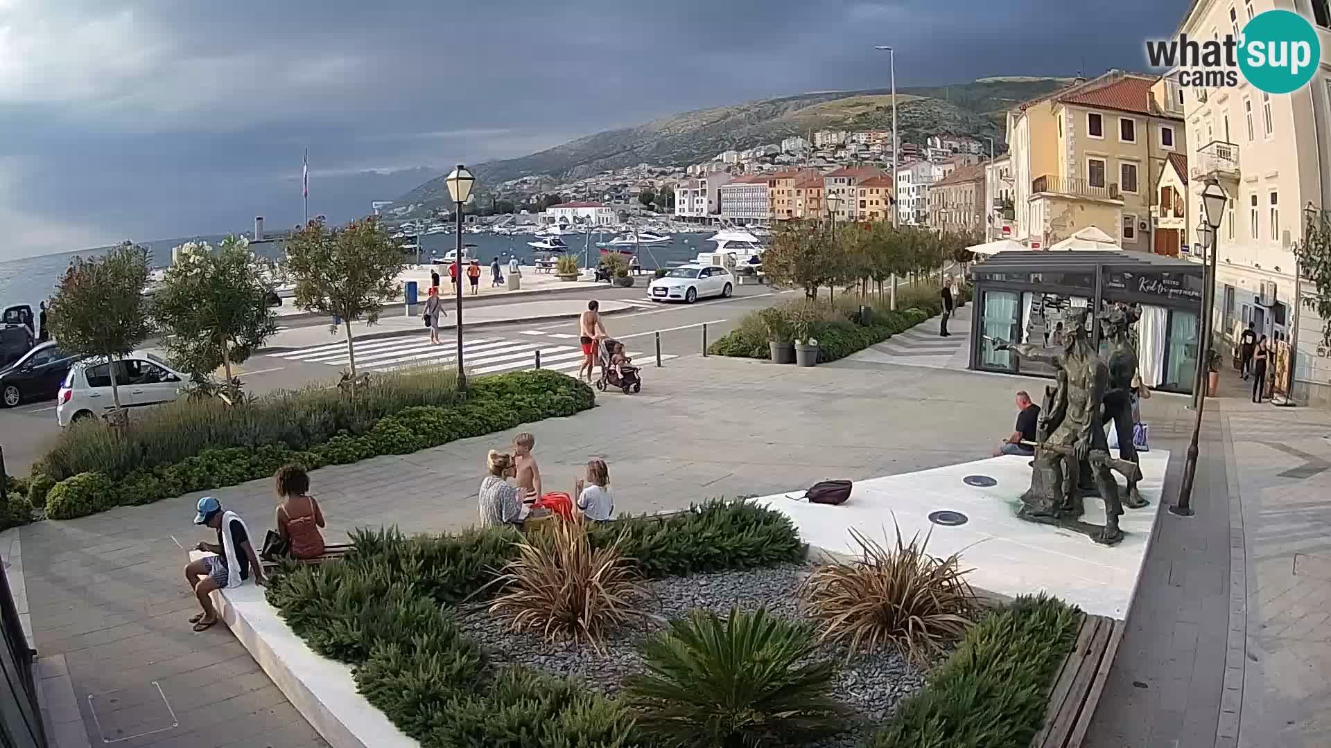 Web kamera uživo Senj riva – Hrvatska
