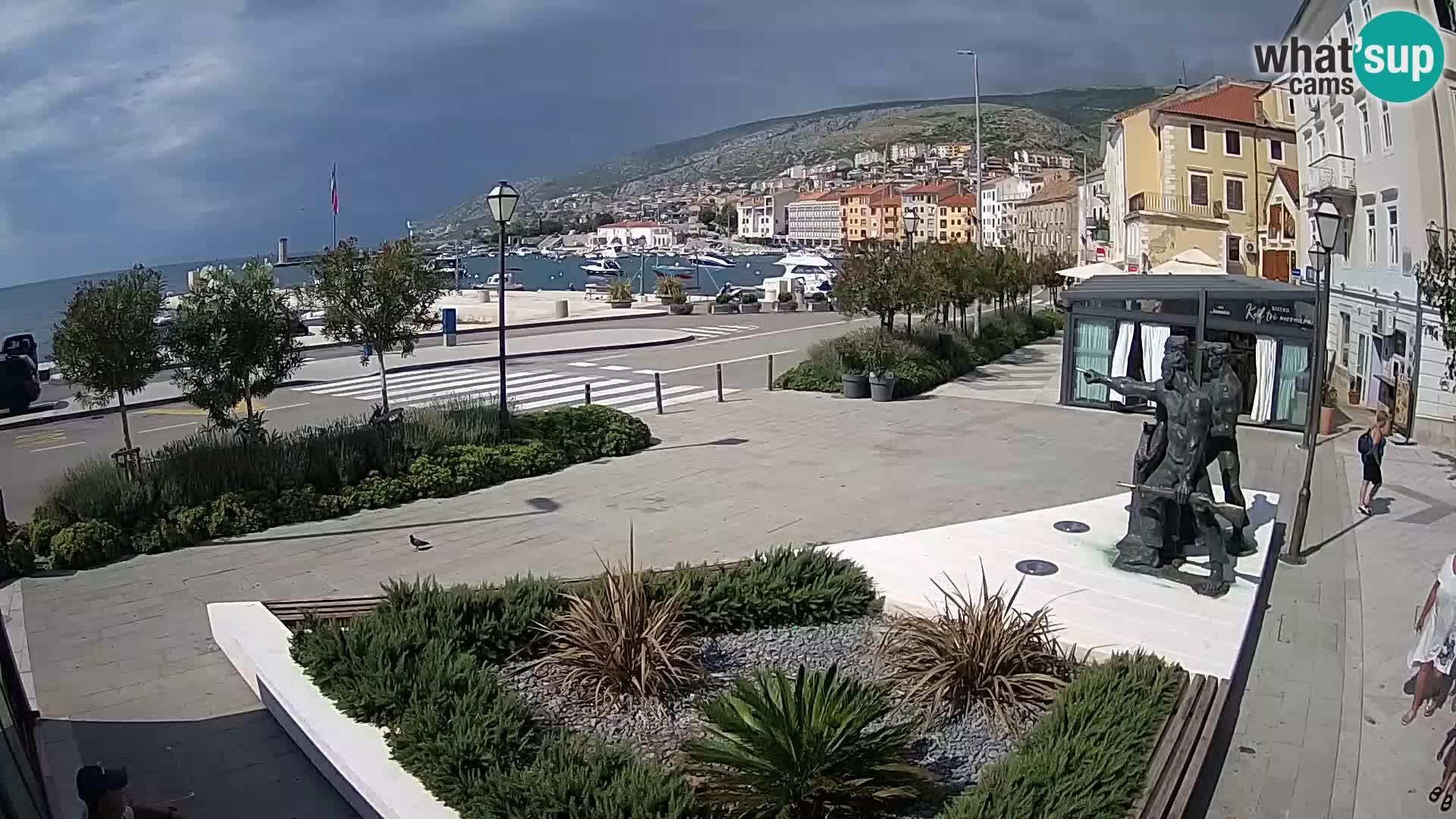 Webcam en direct Senj Riva – front de mer