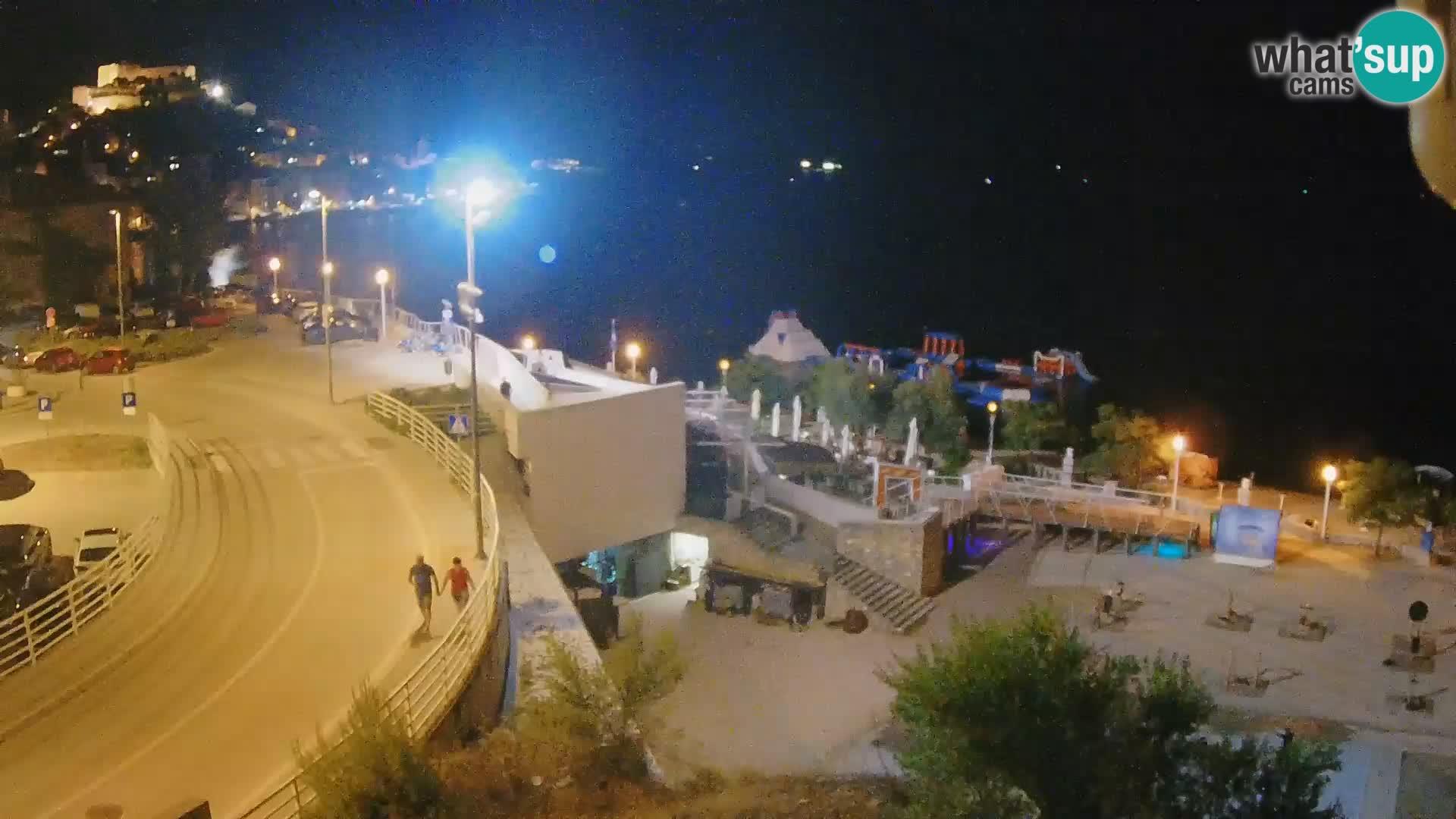 Livecam Sibenico spiaggia Banj