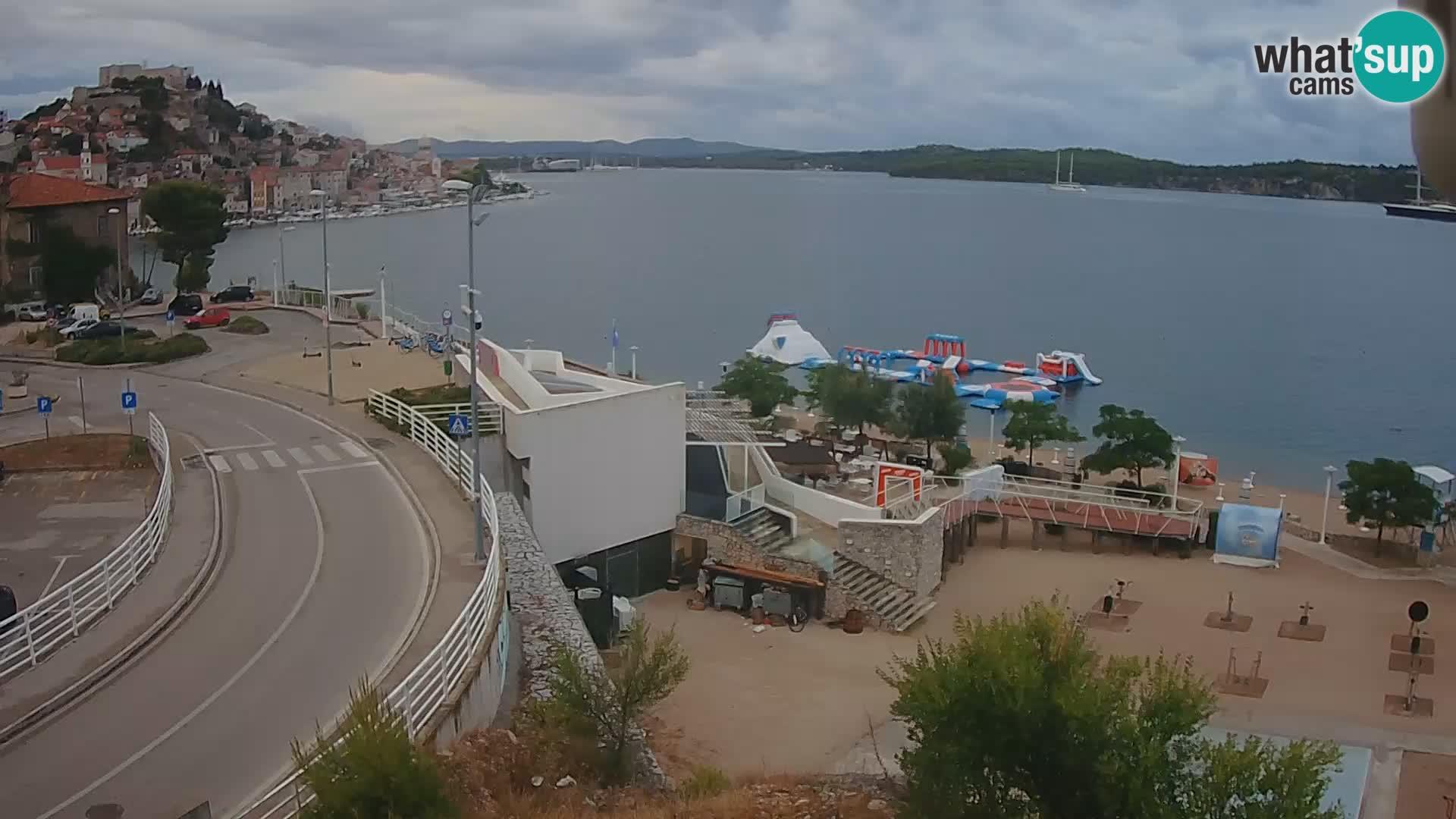 Kamera v živo Šibenik plaža Banj
