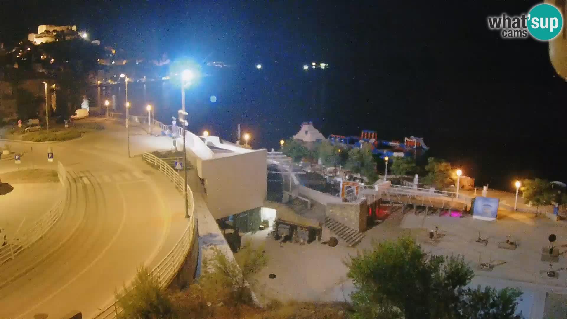 Web kamera Šibenik plaža Banj