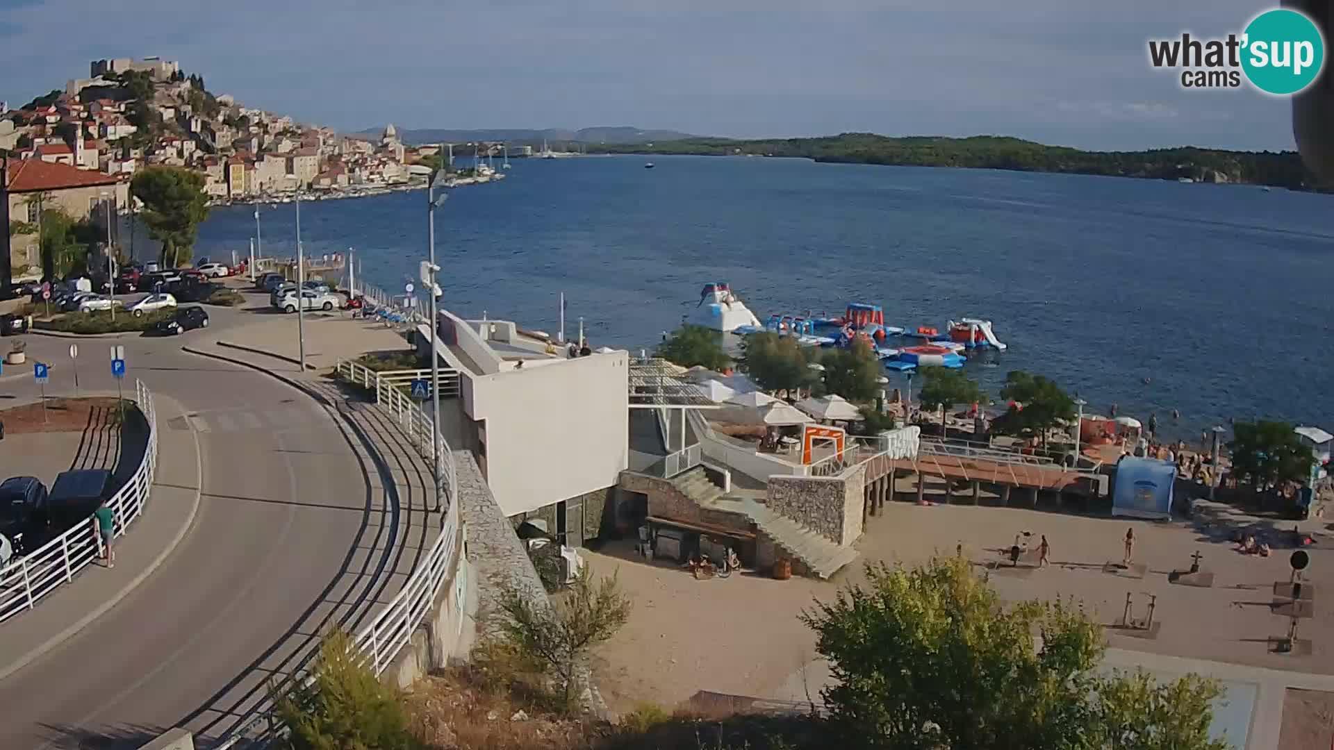 Webcam Šibenik Strand Banj