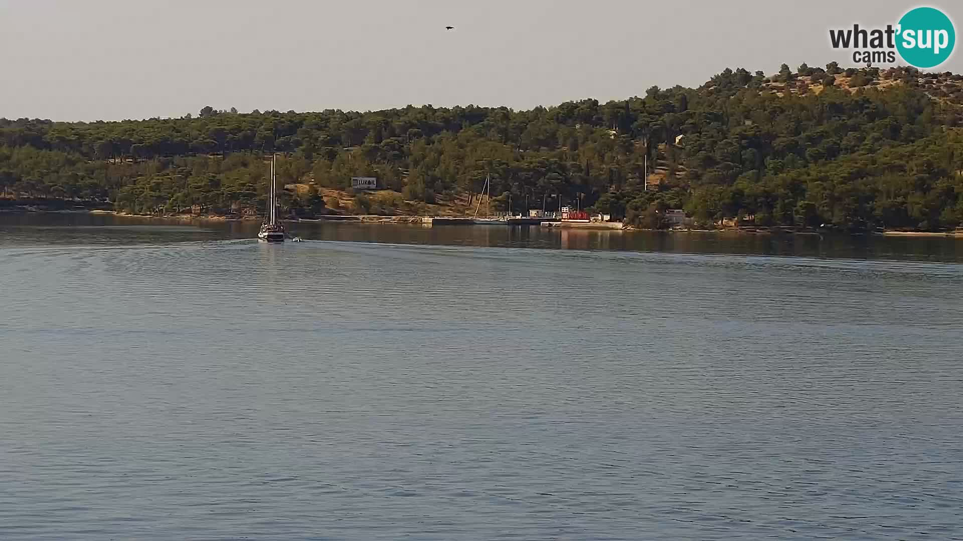 Webcam Šibenik – panorama Bellevue Hotel