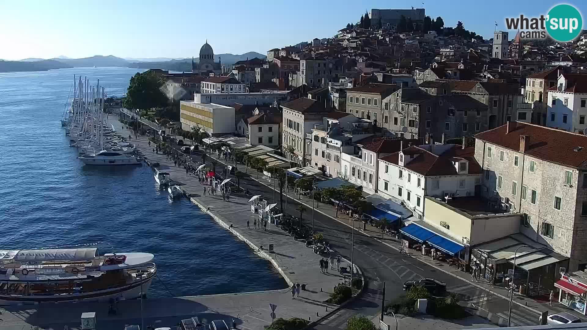 Webcam Šibenik – view from hotel Bellevue
