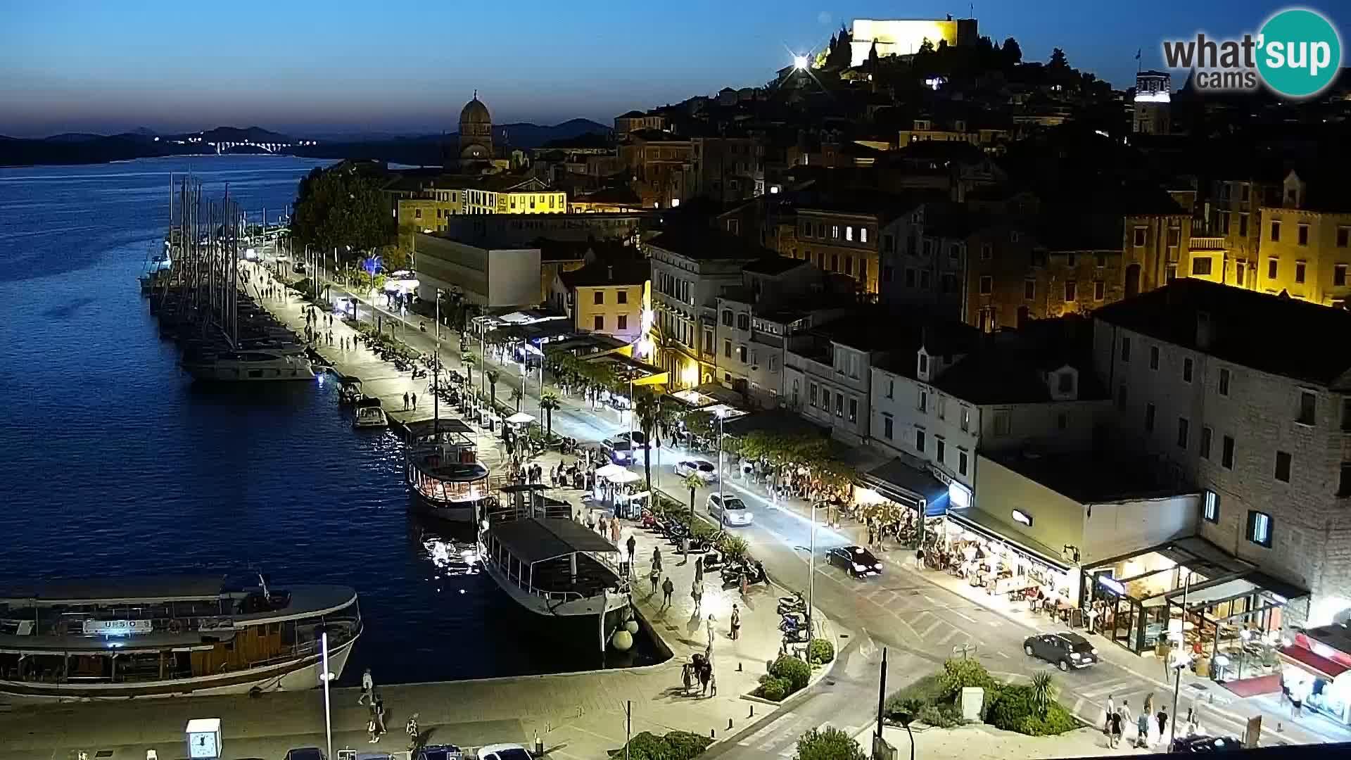 Camera en vivo Šibenik – Bellevue hotel