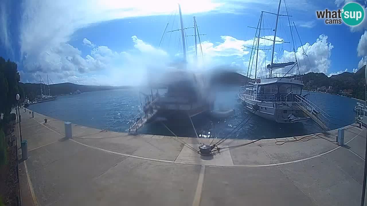 Spletna kamera Slano – Riva