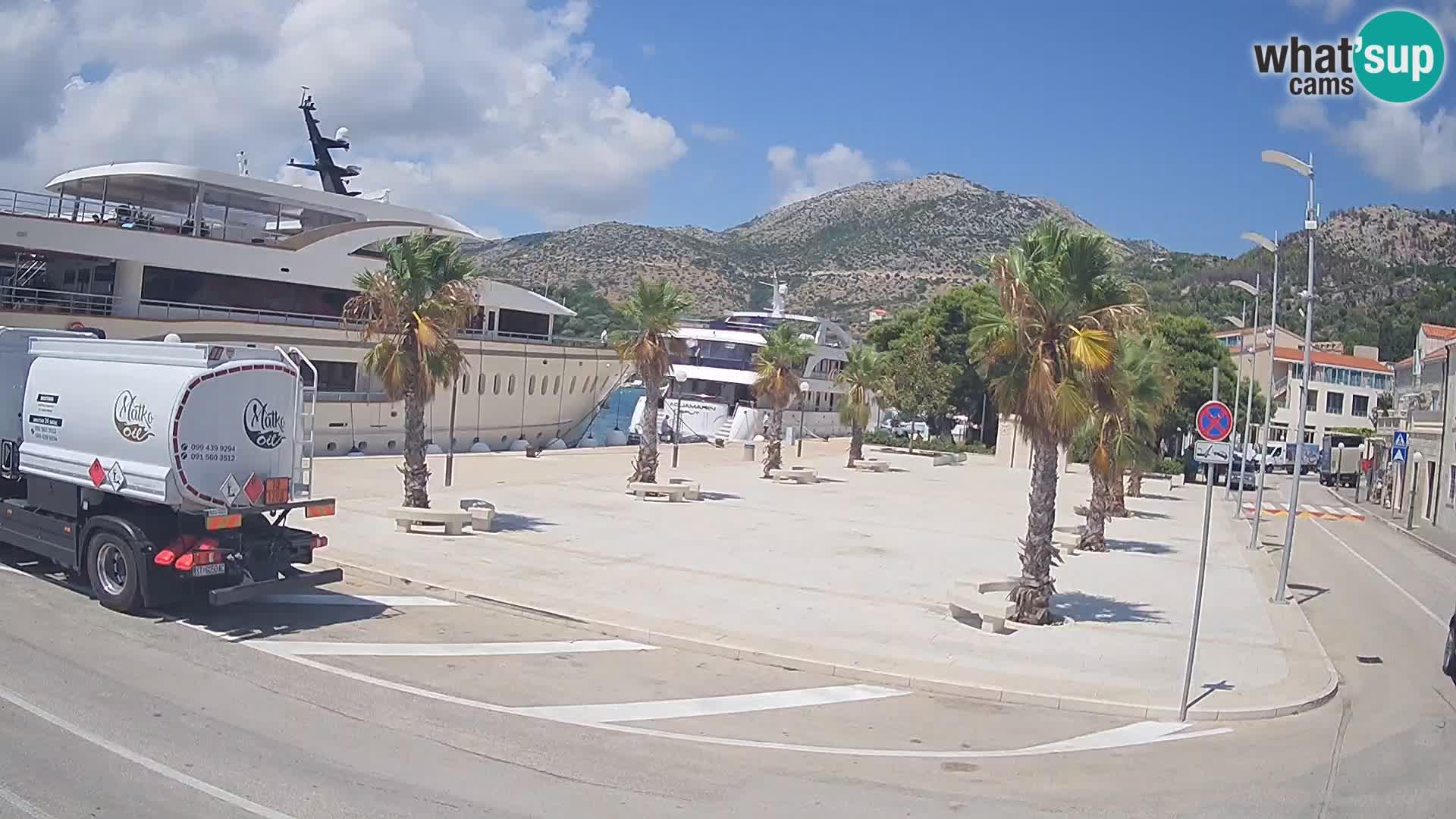 Livecam Slano – Dubrovnik Neretva region webcam Croatie