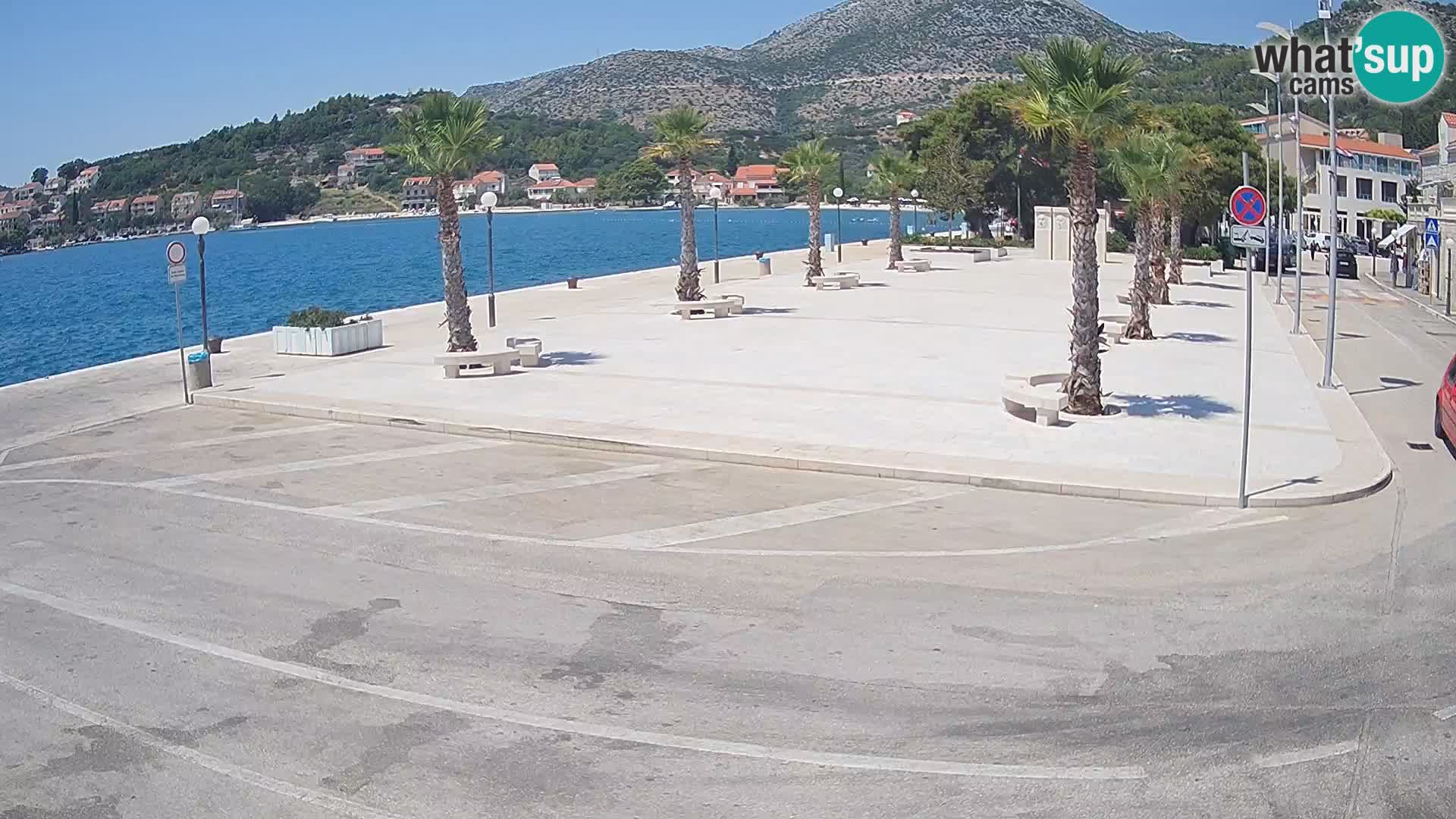 Webcam Slano – Dubrovnik Neretva Camera en vivo Croacia