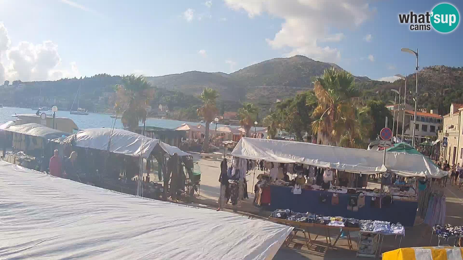 Kamera v živo Slano – Dubrovniško Neretvanska regija – Hrvaška