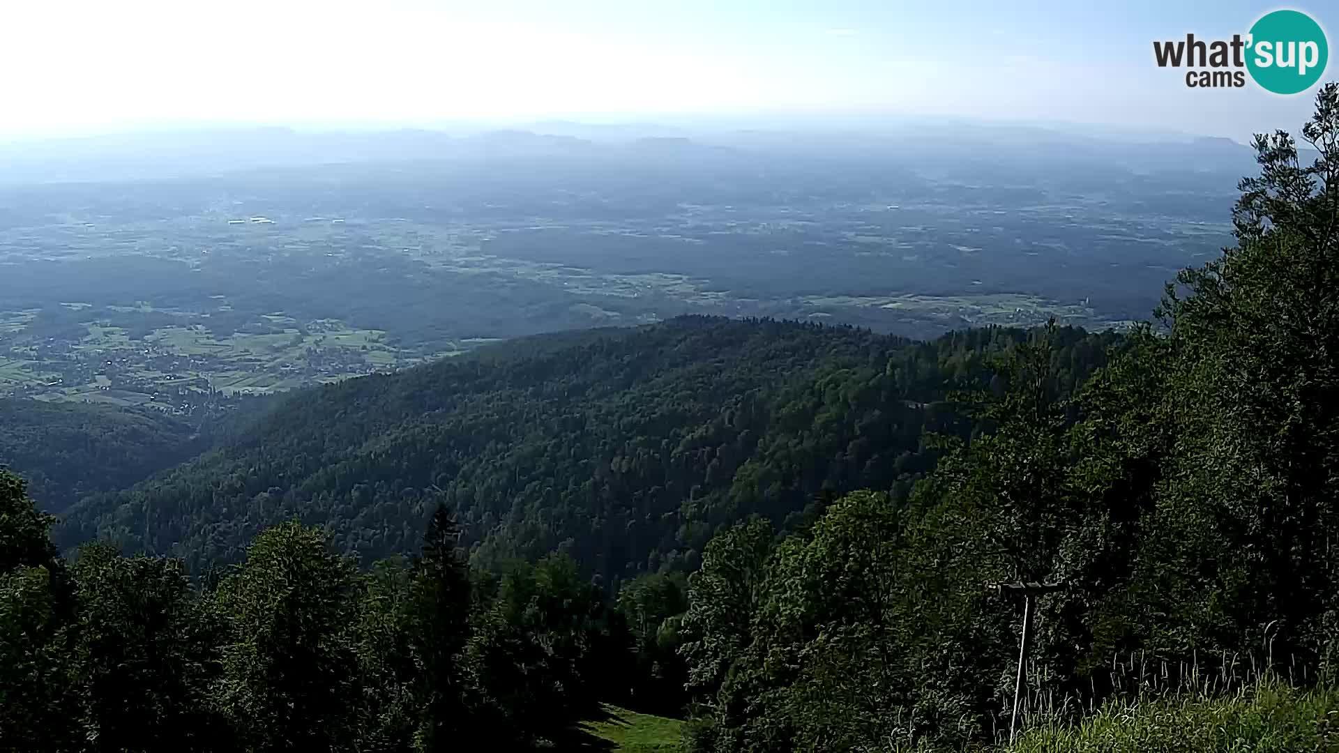 Sljeme webcam – Panorama
