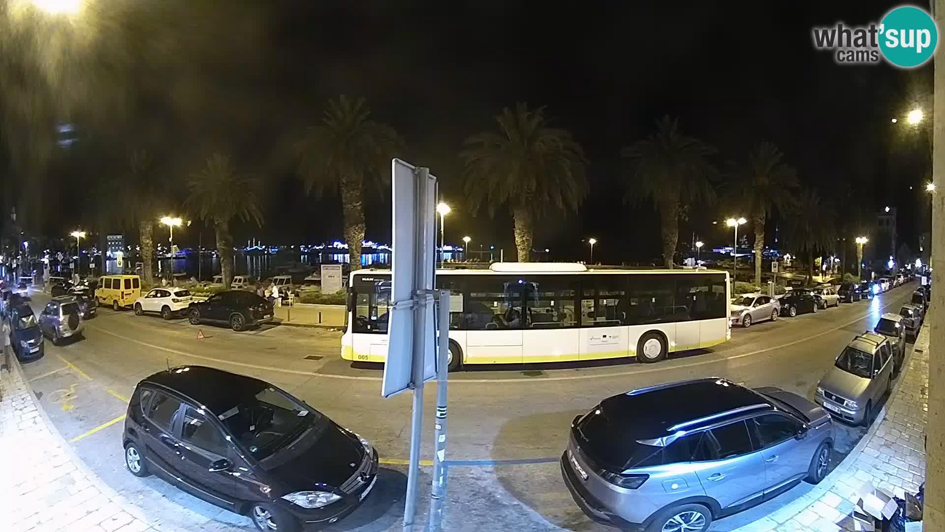 Webcam Split – Seaside Promenade