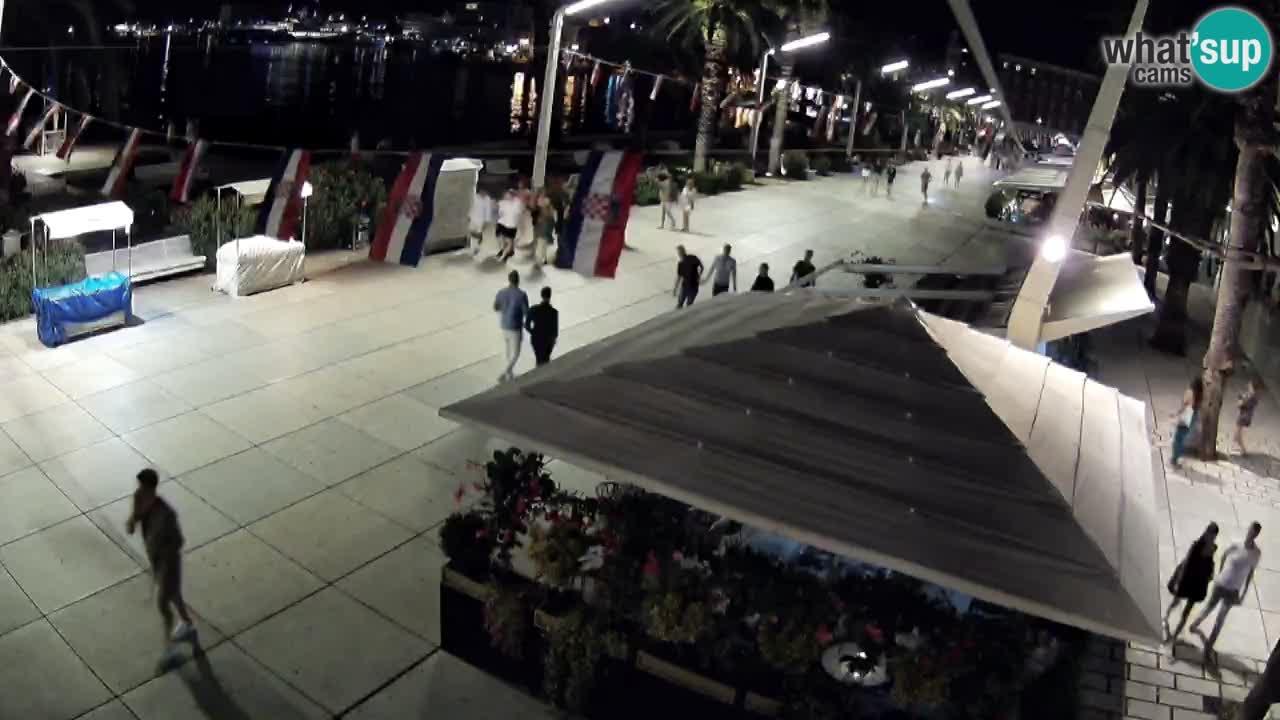 Spletna kamera Split riva