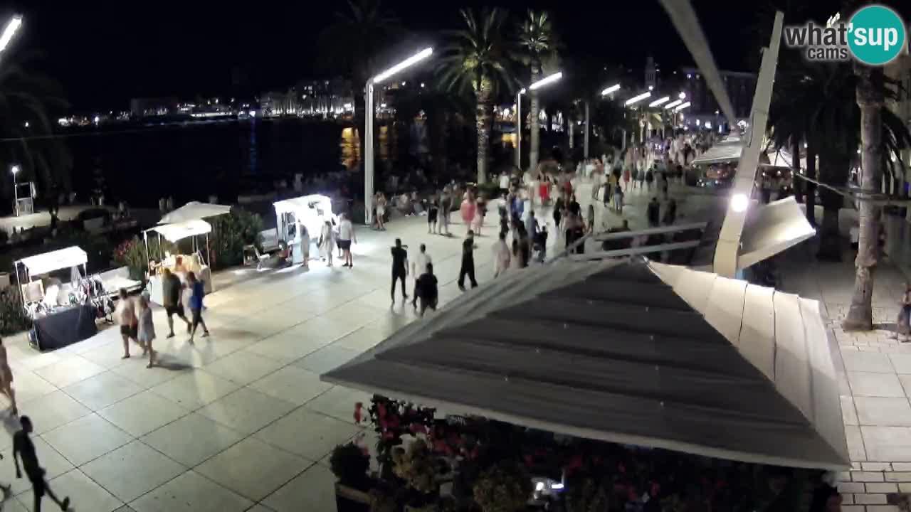 LIVE webcam Spalato riva