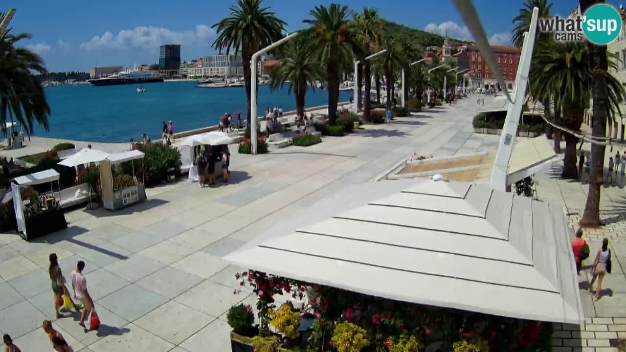 Split – Vista sulla riva di Spalato