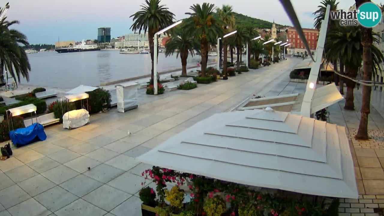 Split –  vista de Riva de Split