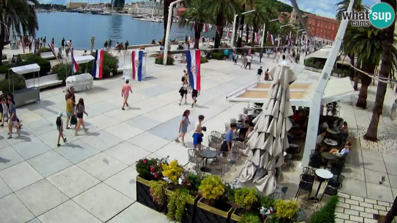 Split –  vue de Riva de Split