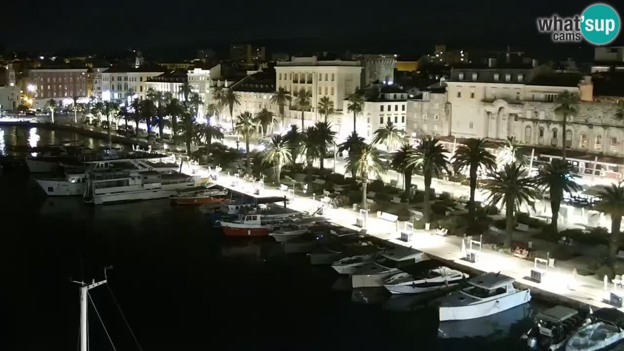 Camera en vivo Split puerto