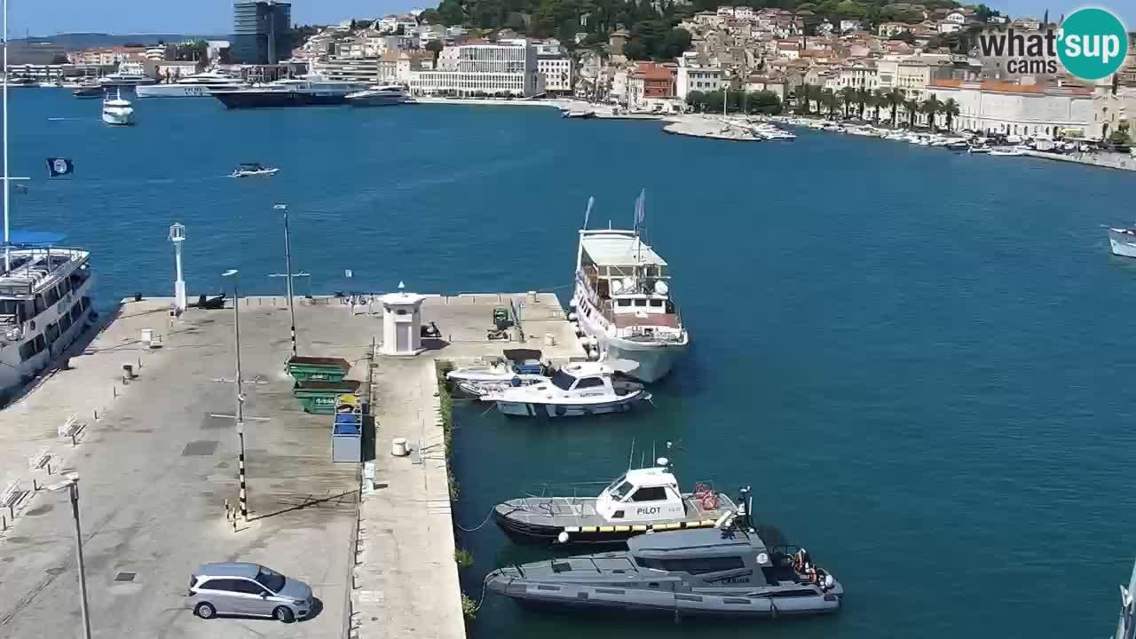 Webcam live Spalato riva e porto