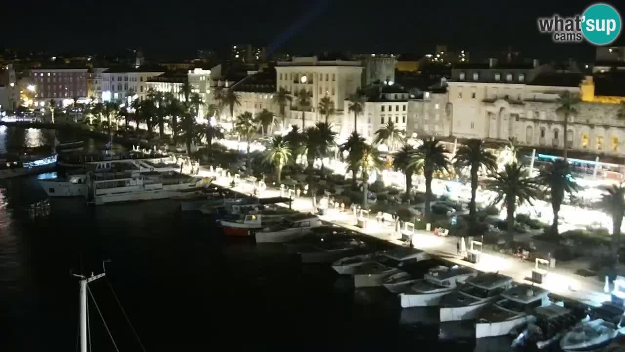 Split livecam panorama