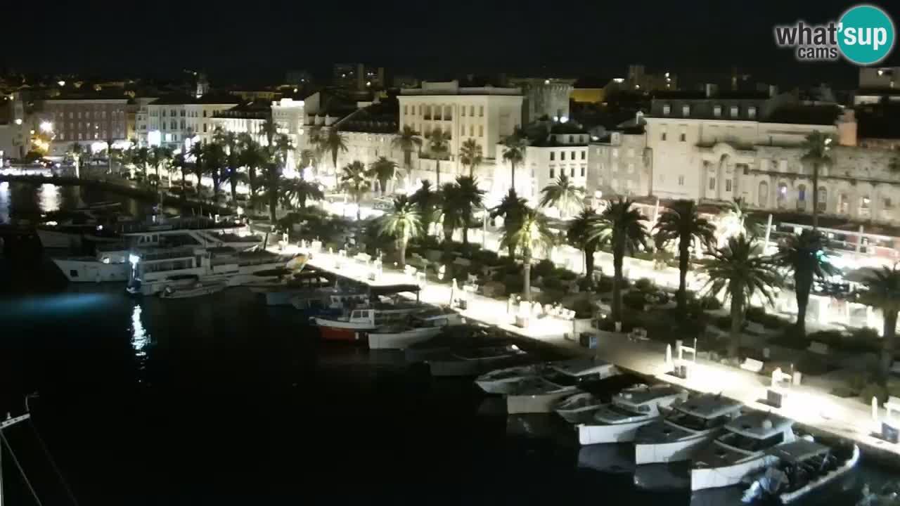 Split Riva Live webcam panorama