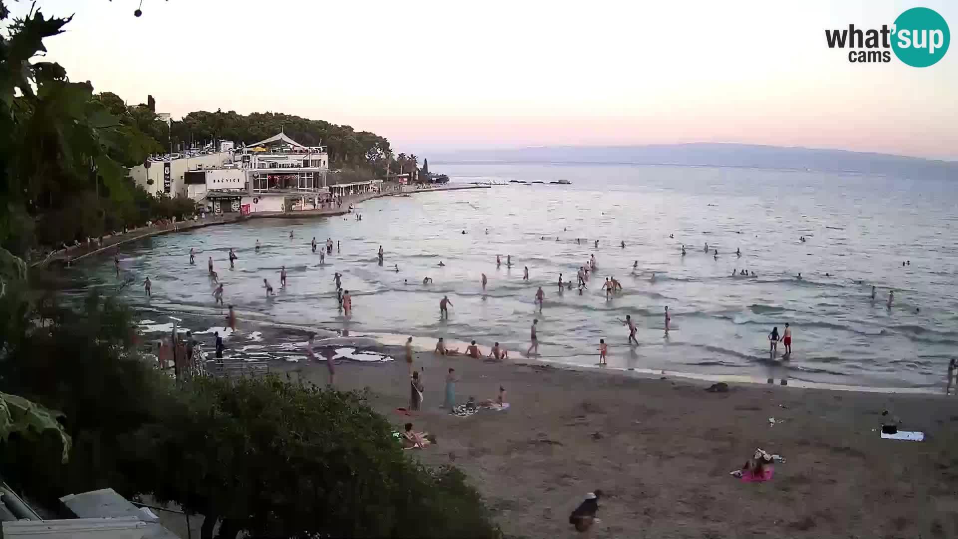 Webcam Live – Split – playa Bačvice