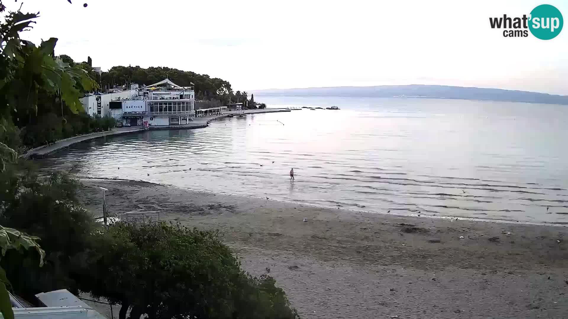 Webcam Live –  Split – spiaggia Bačvice