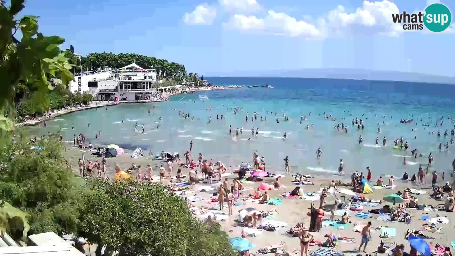 Web kamera Split – plaža Bačvice