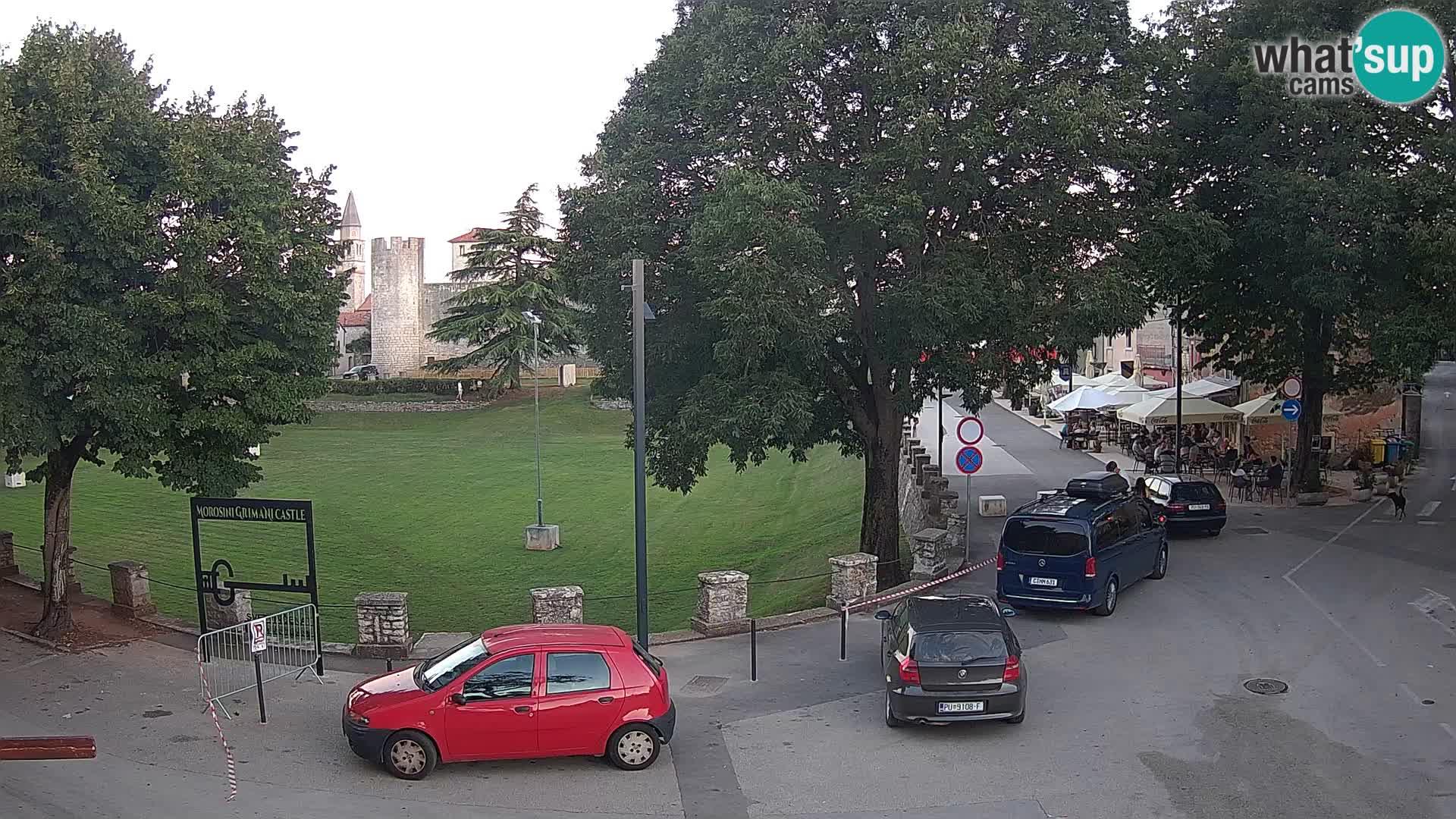Live Svetvinčenat – vue sur le château Morosini Grimani – Istrie – Croatie