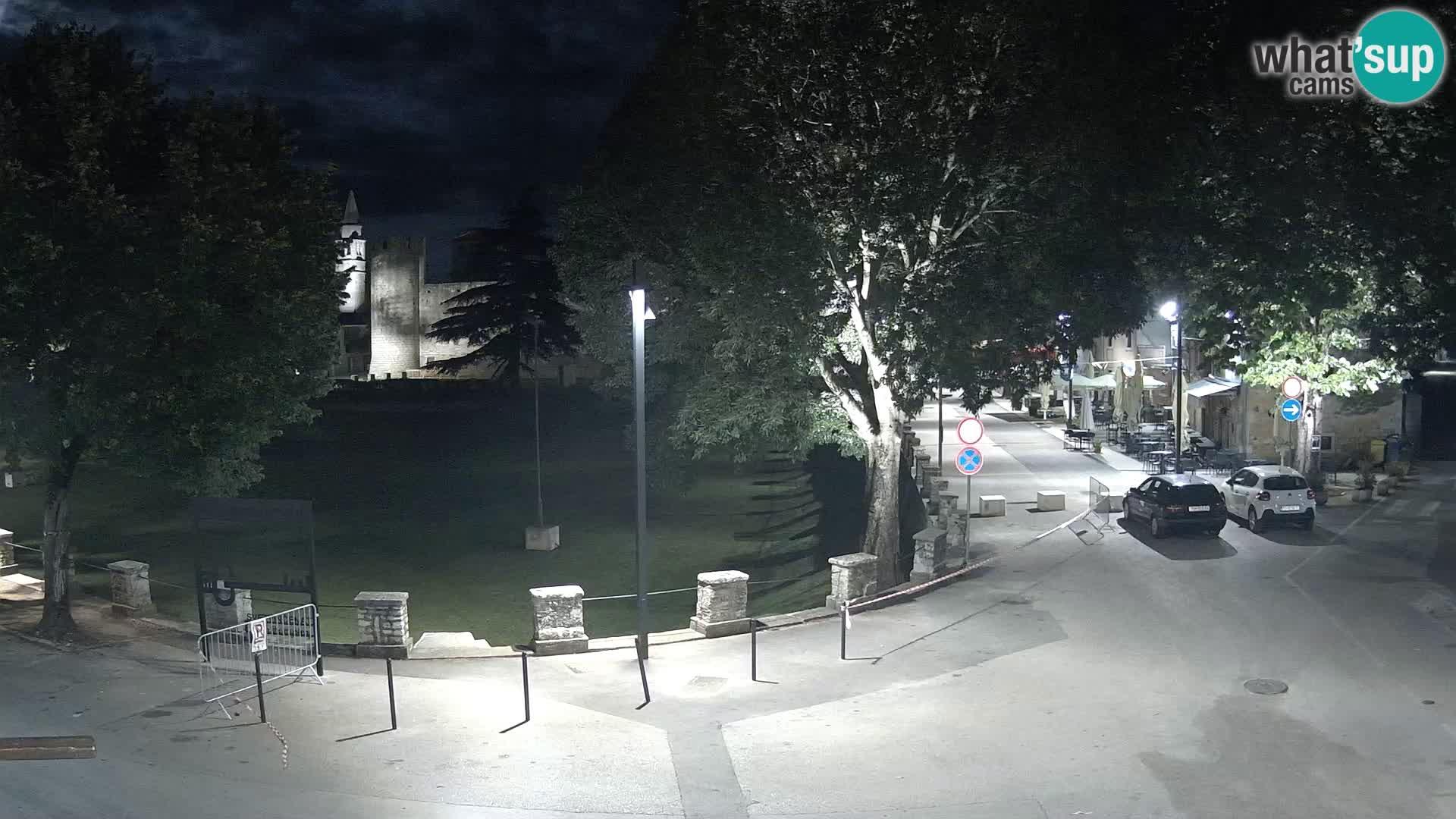 Live Svetvinčenat – view to Castle Morosini Grimani – Istria – Croatia