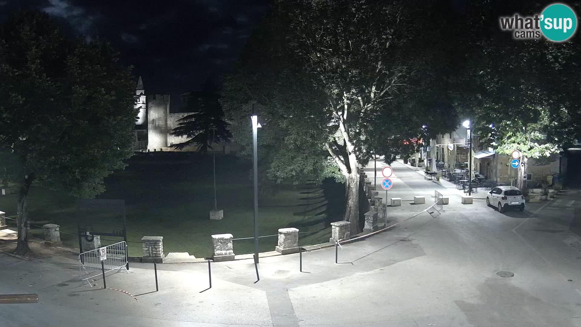 Live Svetvinčenat (Sanvincenti) – vista sul castello Morosini Grimani – Istria – Croazia