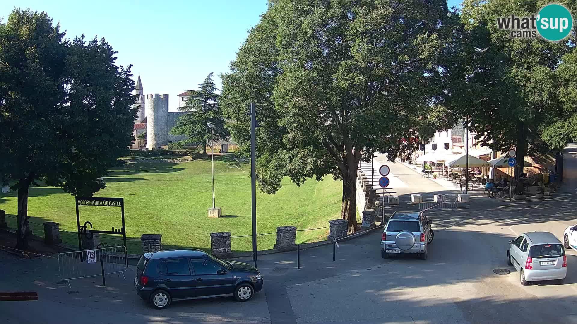 LIVE Svetvinčenat – vista al castillo Morosini Grimani – Istria – Croacia