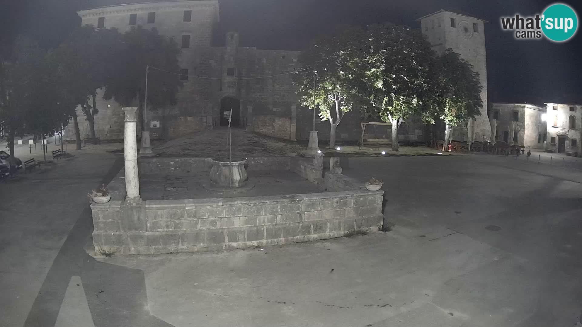 Webcam Svetvinčenat – the Castle and well – Istria – Croatia
