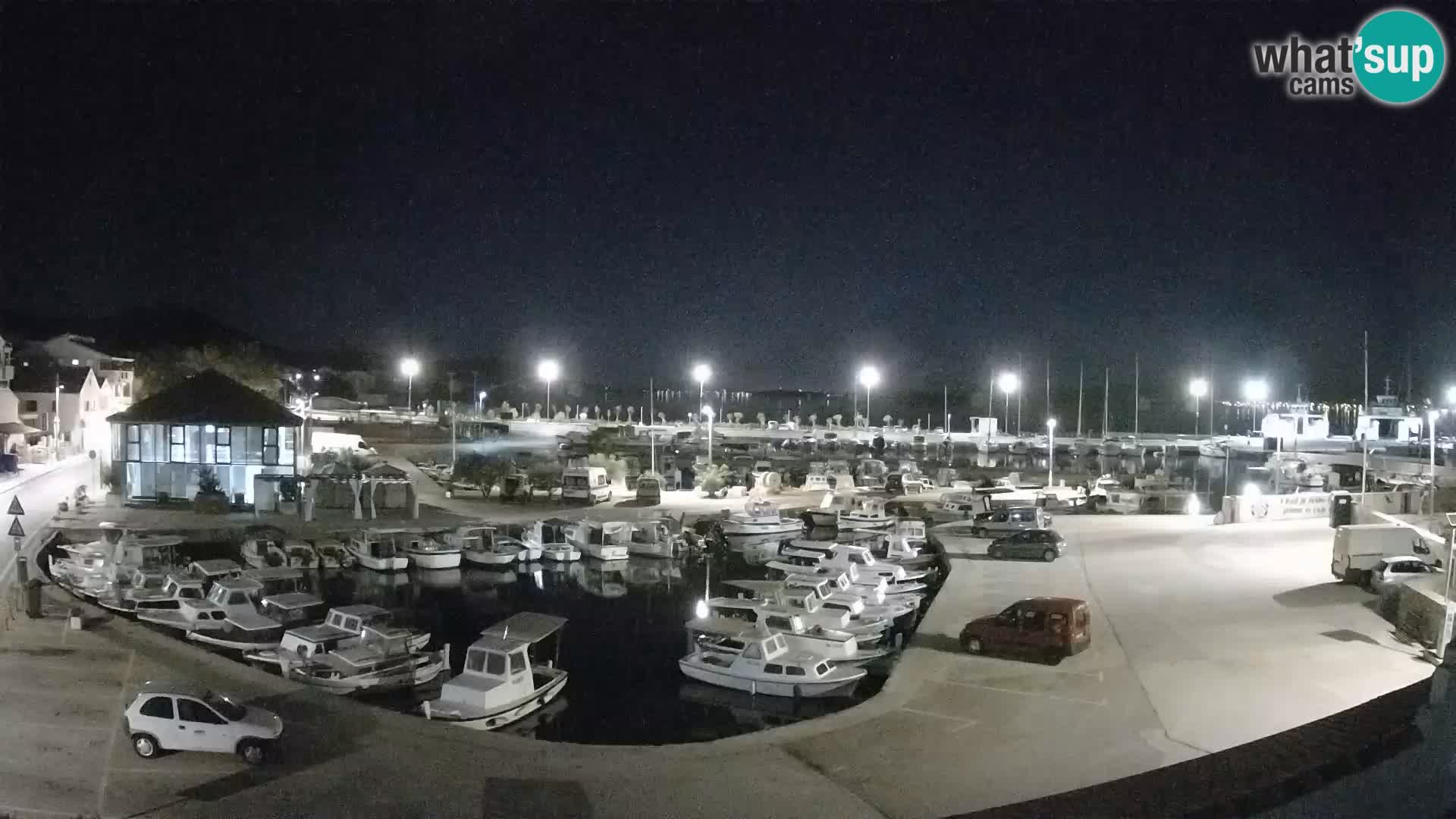 Kamera v živo Tkon – Marina in pristanišče