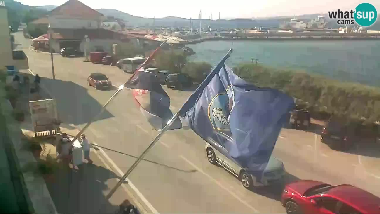 Spletna kamera otok Tkon  – Pašman