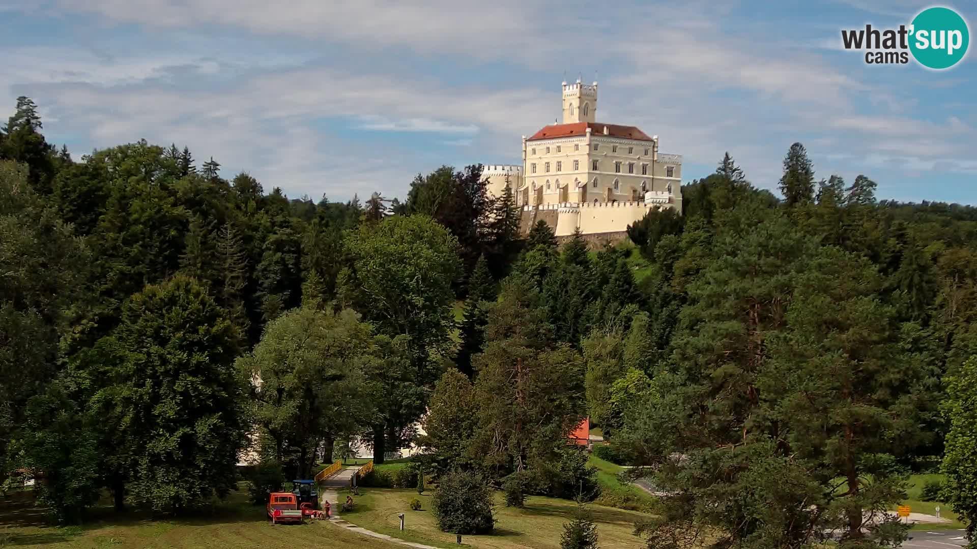 El Castillo de Trakošćan