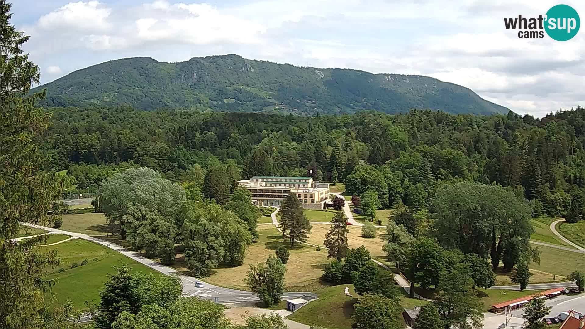 Trakošćan – Vista desde el castillo