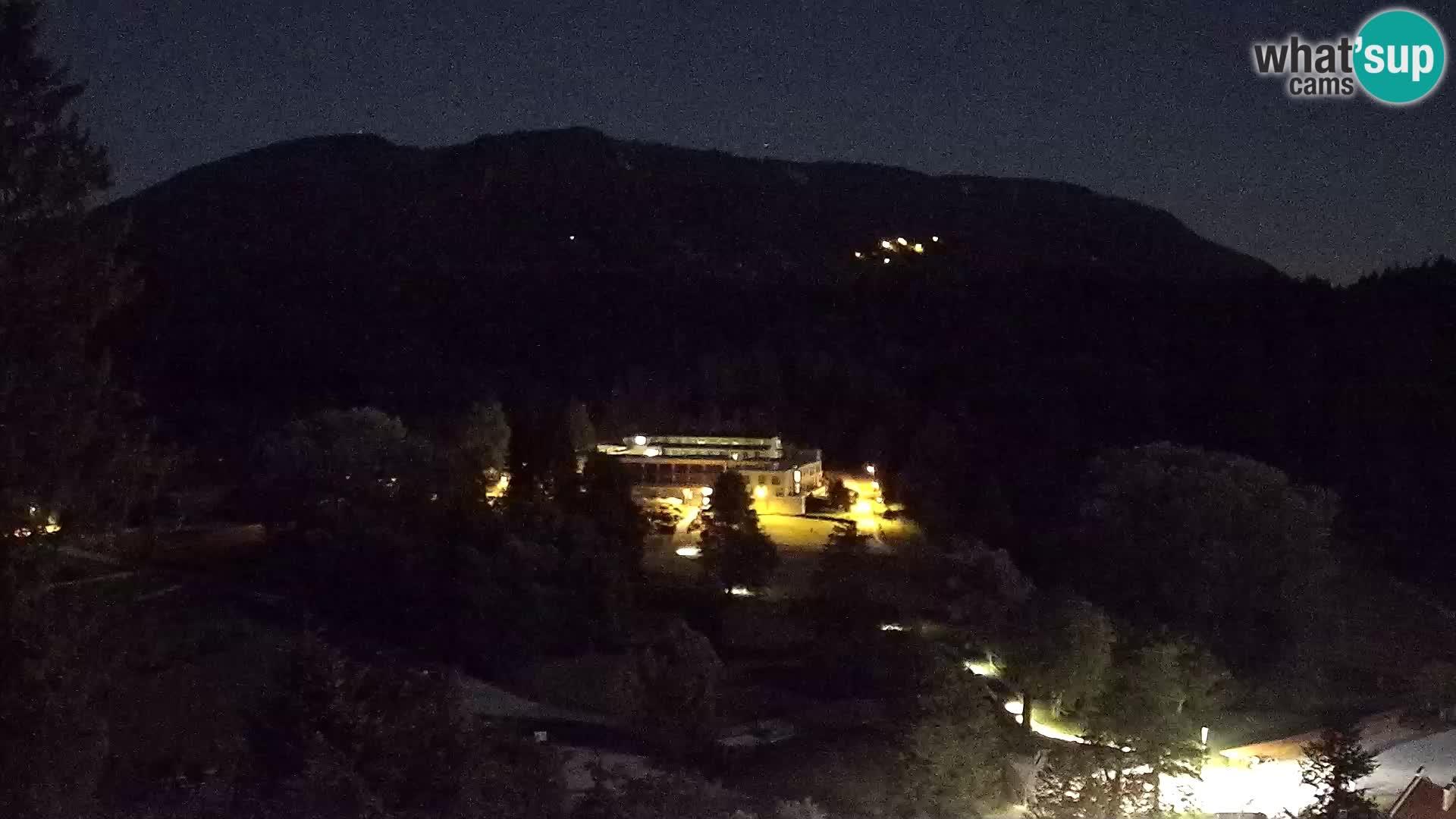 Trakošćan – Vista dal castello