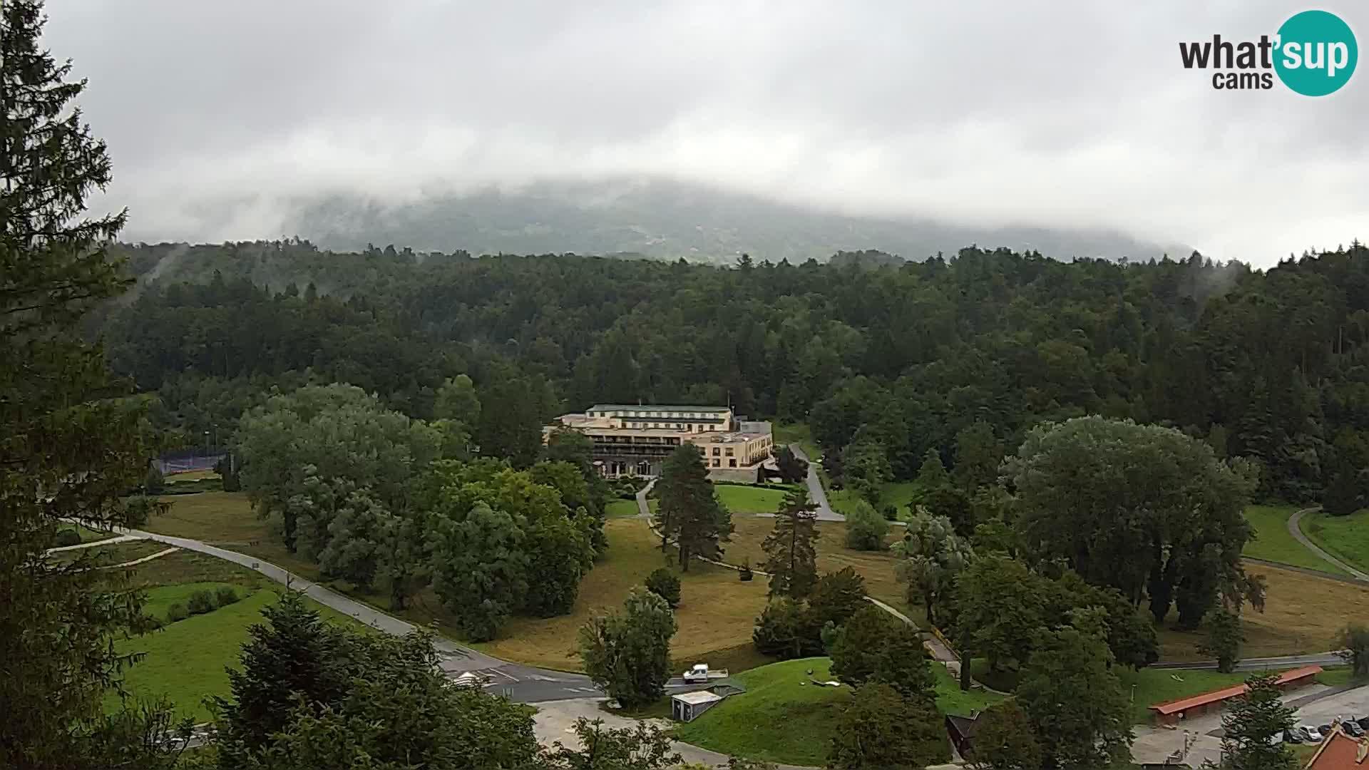 Trakošćan – view from castle