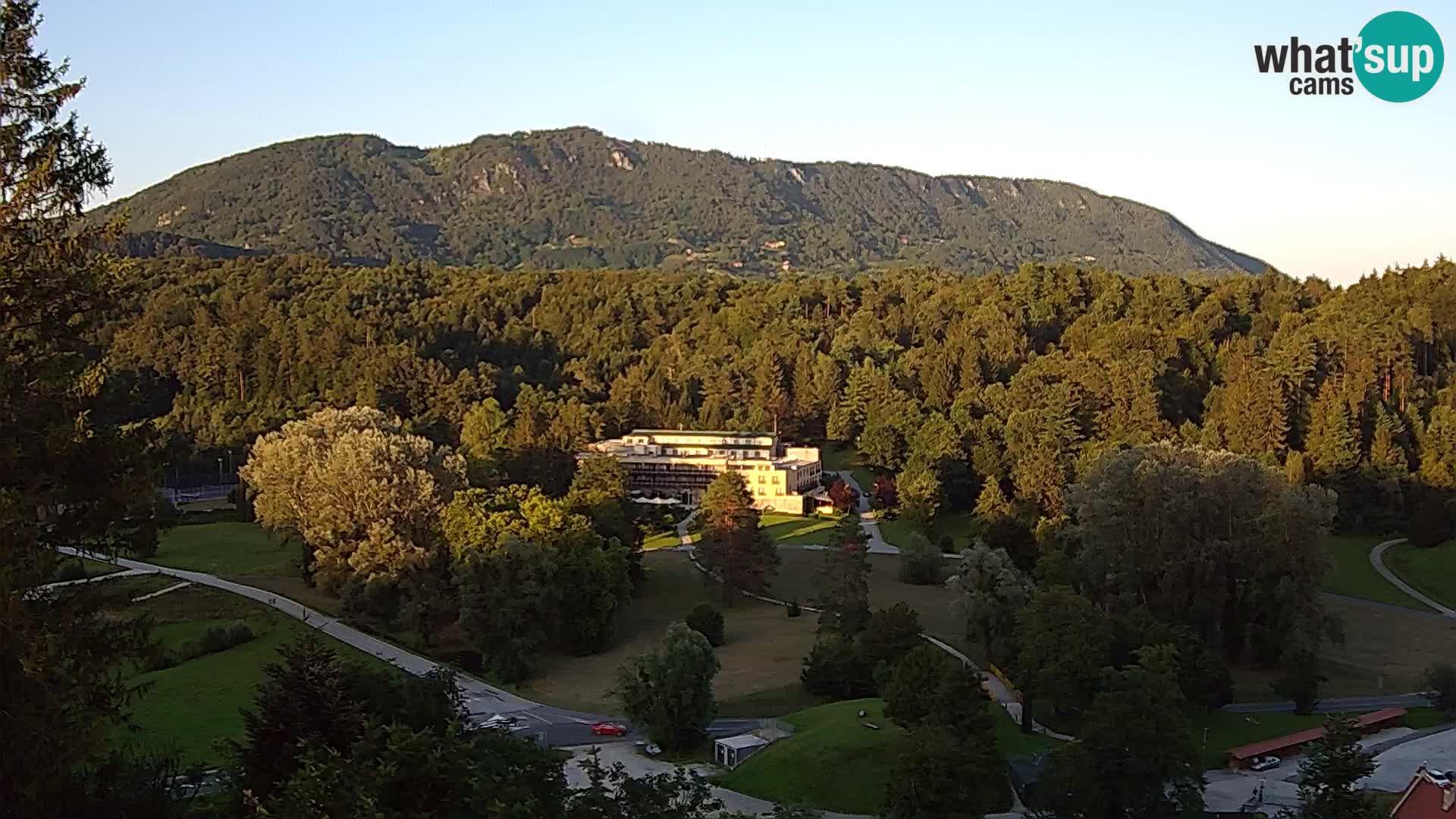 Trakošćan – Vue du château