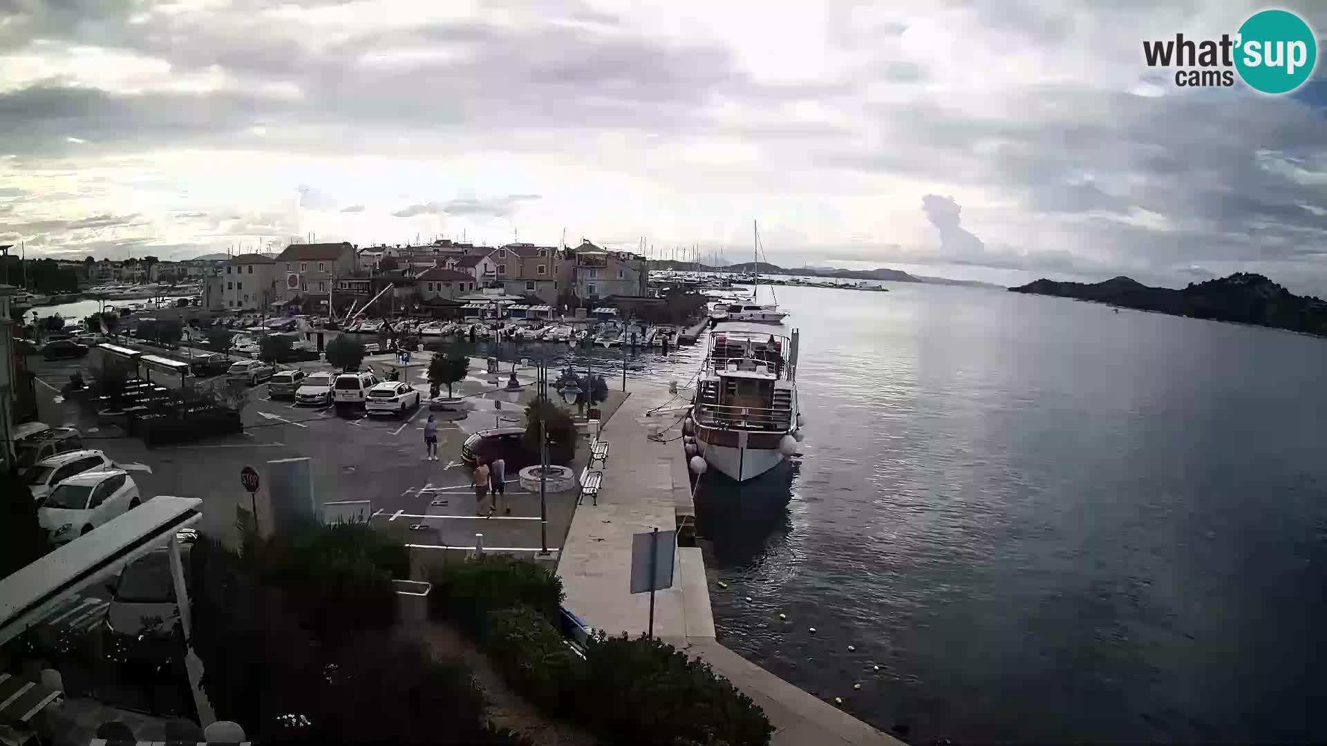Spletna kamera Tribunj