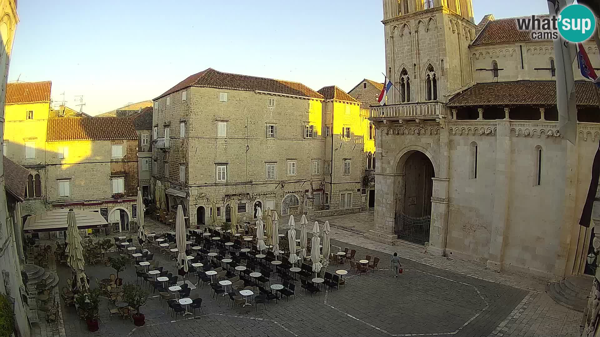 Web kamera uživo Trogir – Katedrala sv. Lovre – Livecam Hrvatska