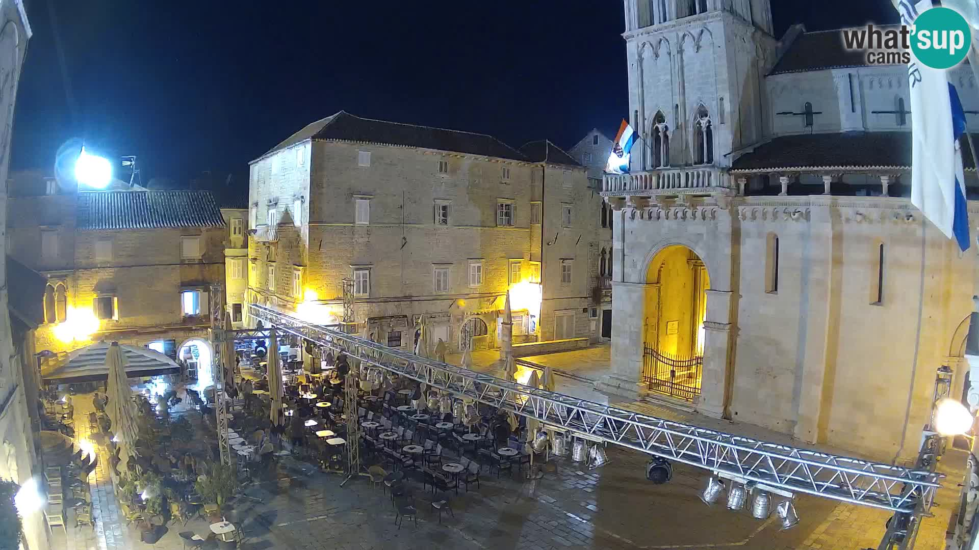 Live Webcam Trogir – St.-Laurentius-Kathedrale – Livecam Kroatien